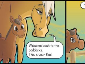 Father's Day - horizontal - Horse on the Run comics