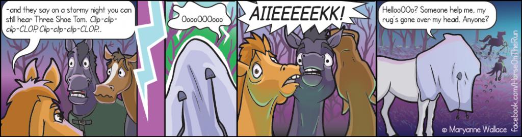 The Ghost - horizontal - Horse on the Run comics