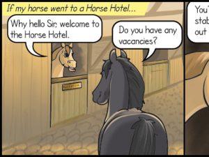 Horse comic