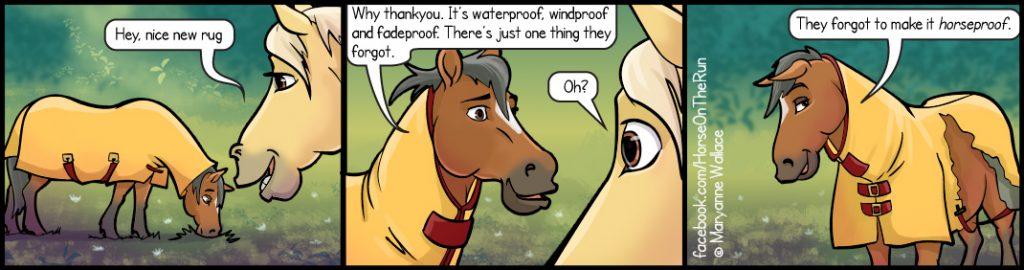 Horseproof - Horizontal - Horse on the Run comics
