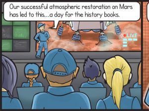 Preview - Horses and ponies on Mars comic