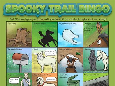 Spooky Trail Bingo